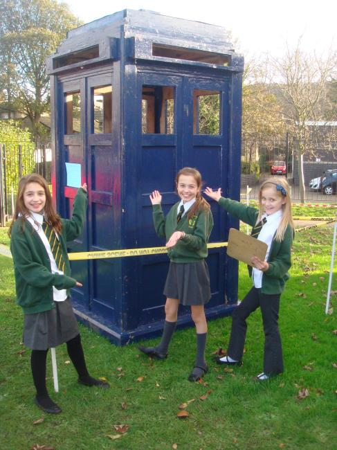 Yes we solved it! Now visit the TARDIS  Our mystery character was Guy Fawkes. We then had to research facts about Guy Fawkes.