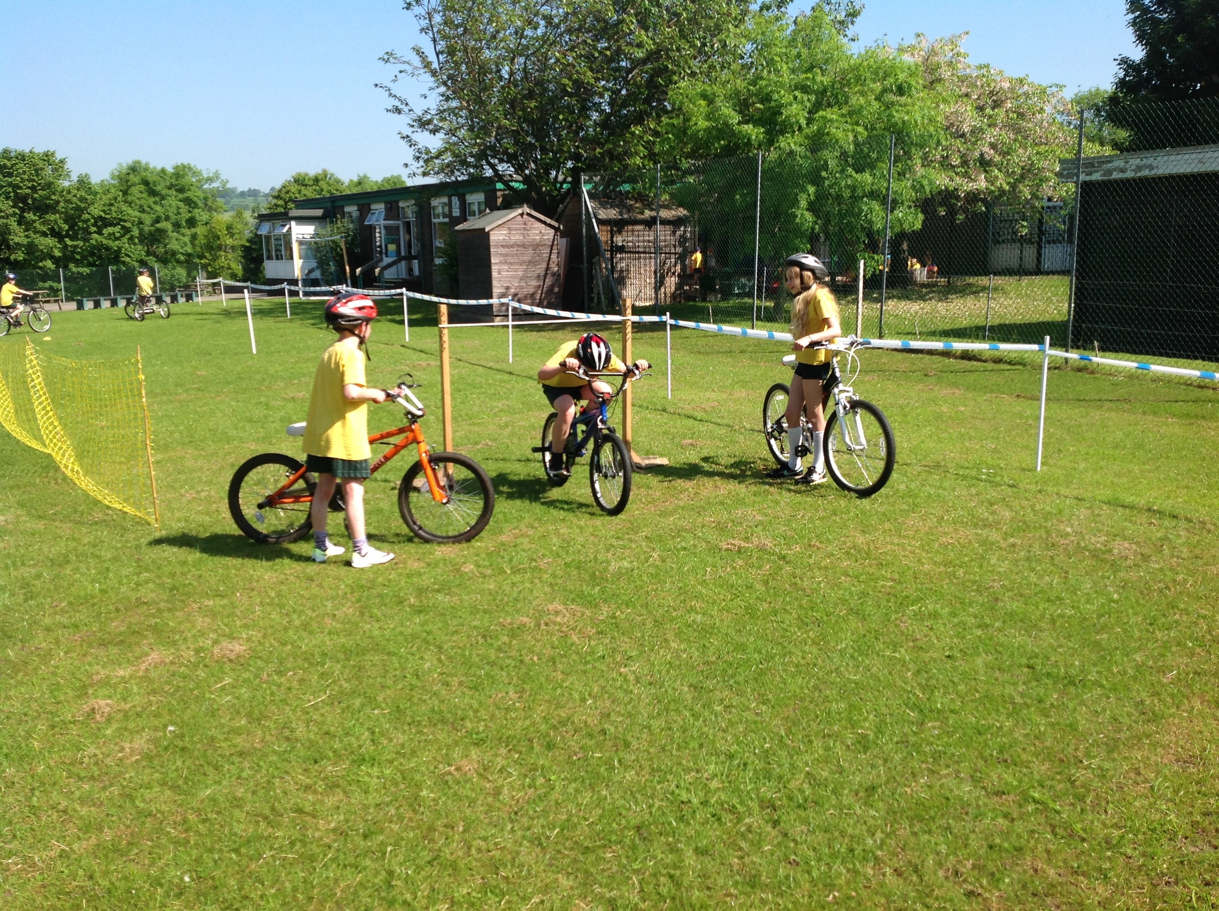 Bike handling ability.   Riding through the limbo.