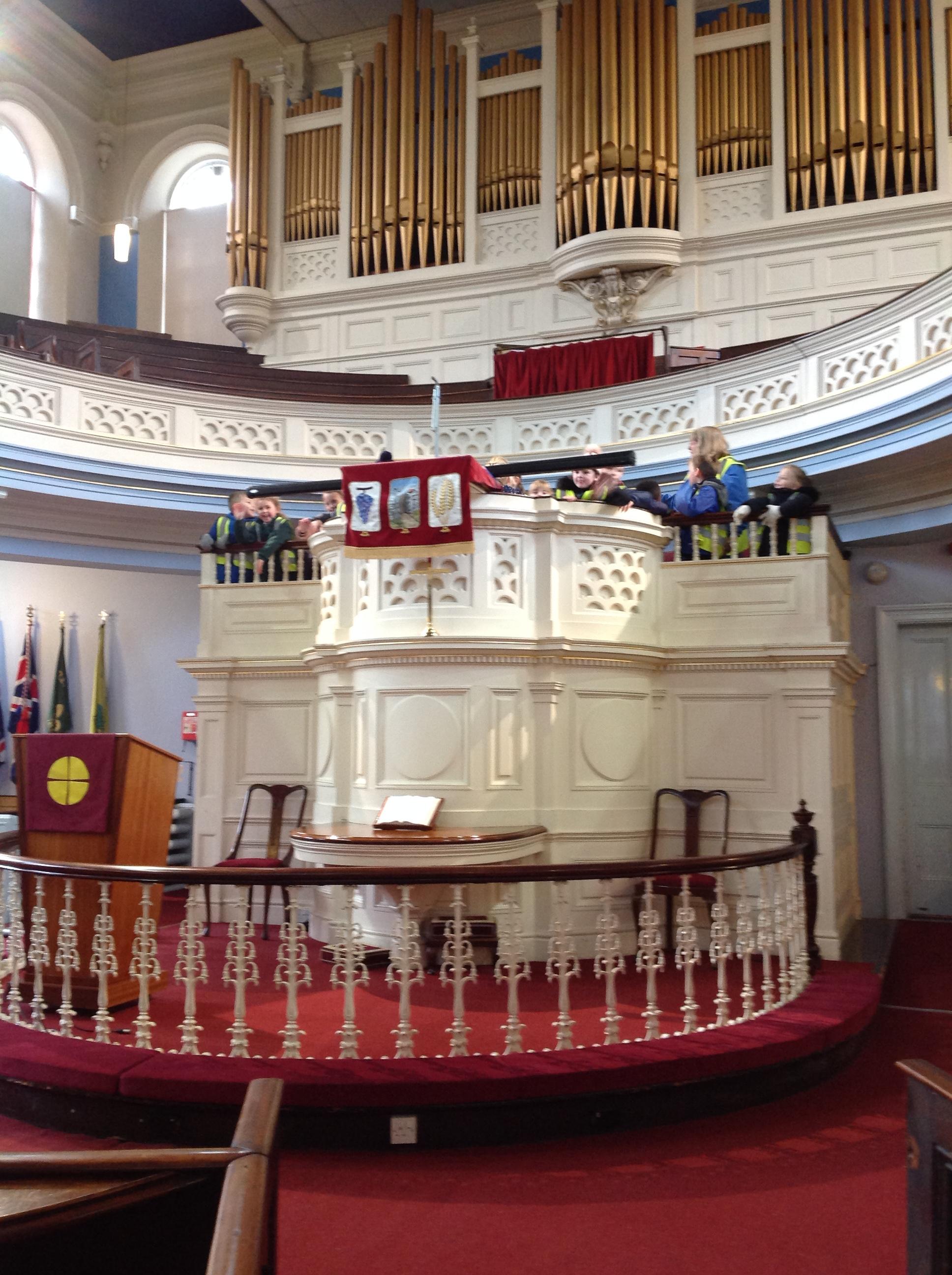 We explored the Methodist Church.