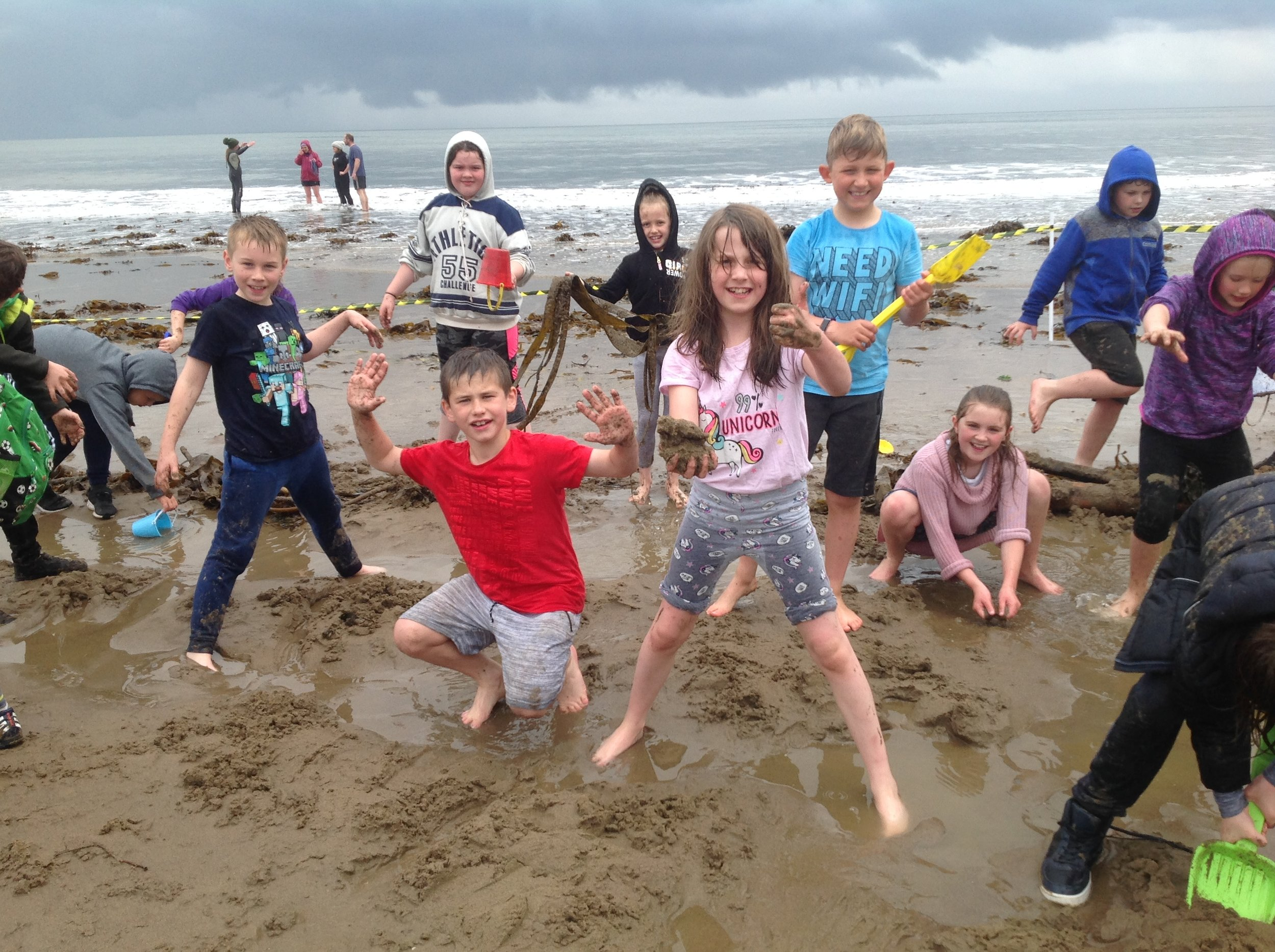 Wet weather won't stop our fun !