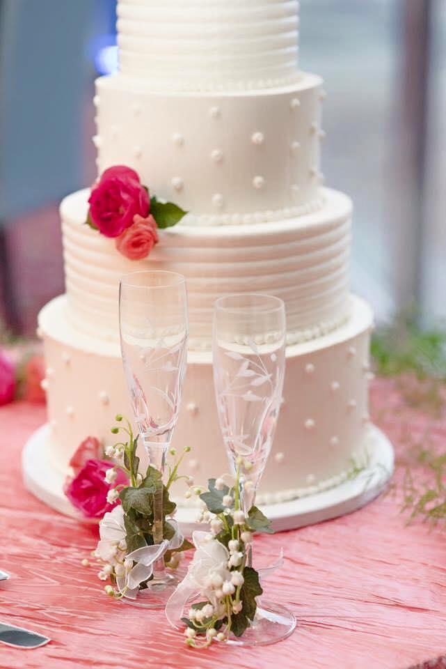 Copy of elegant white buttercream wedding cake