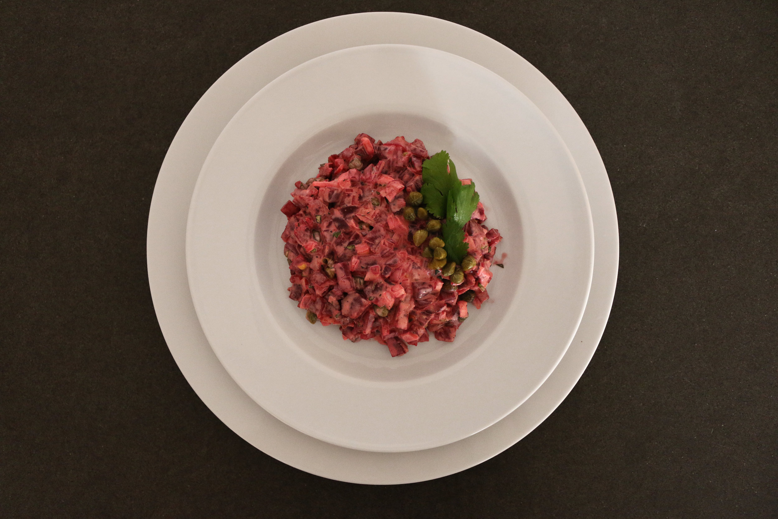 Beetroot-tartare-vegan-recipe-gourmandesante-1