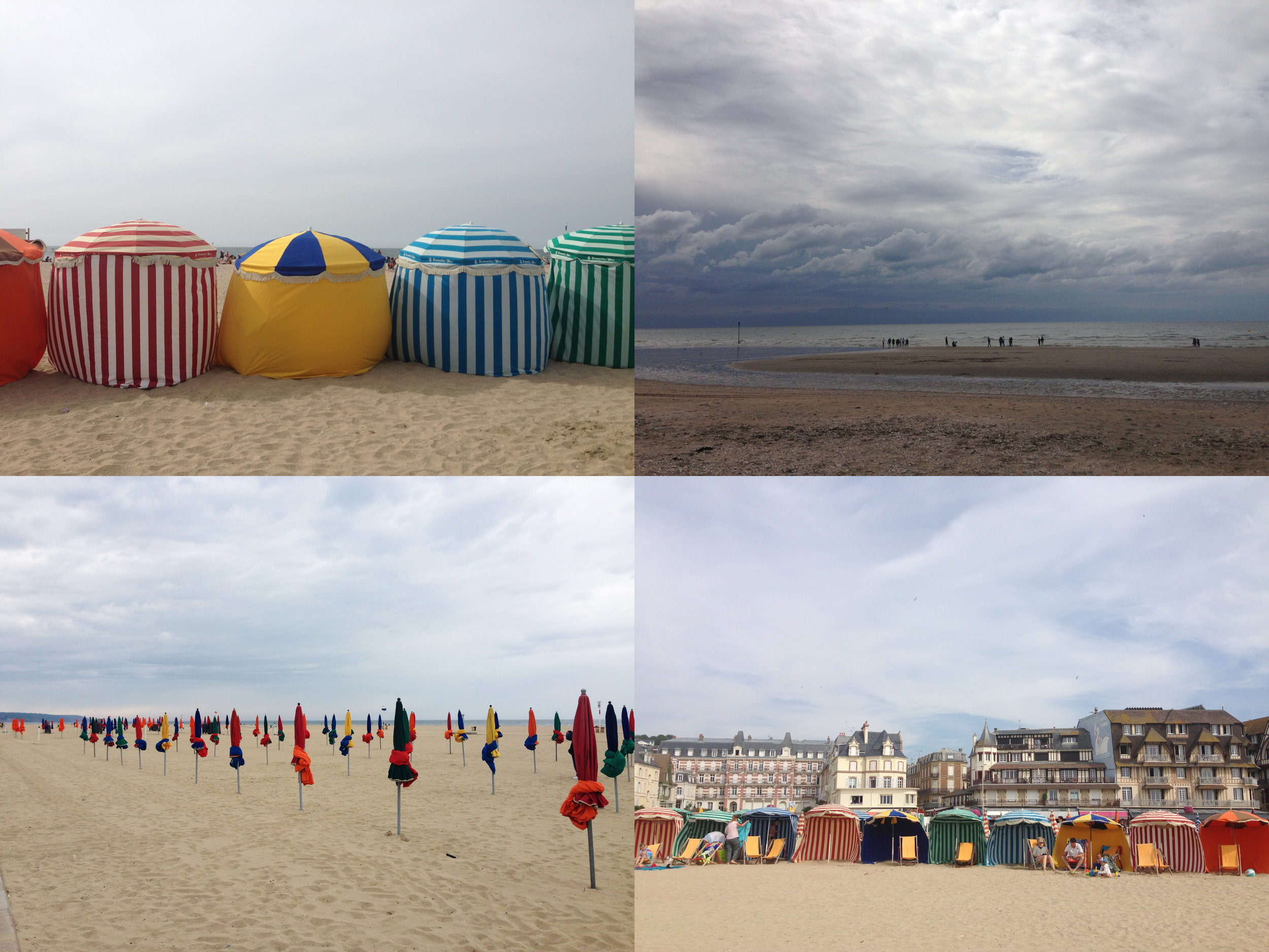 NORMANDY-DEAUVILLE-BEACH
