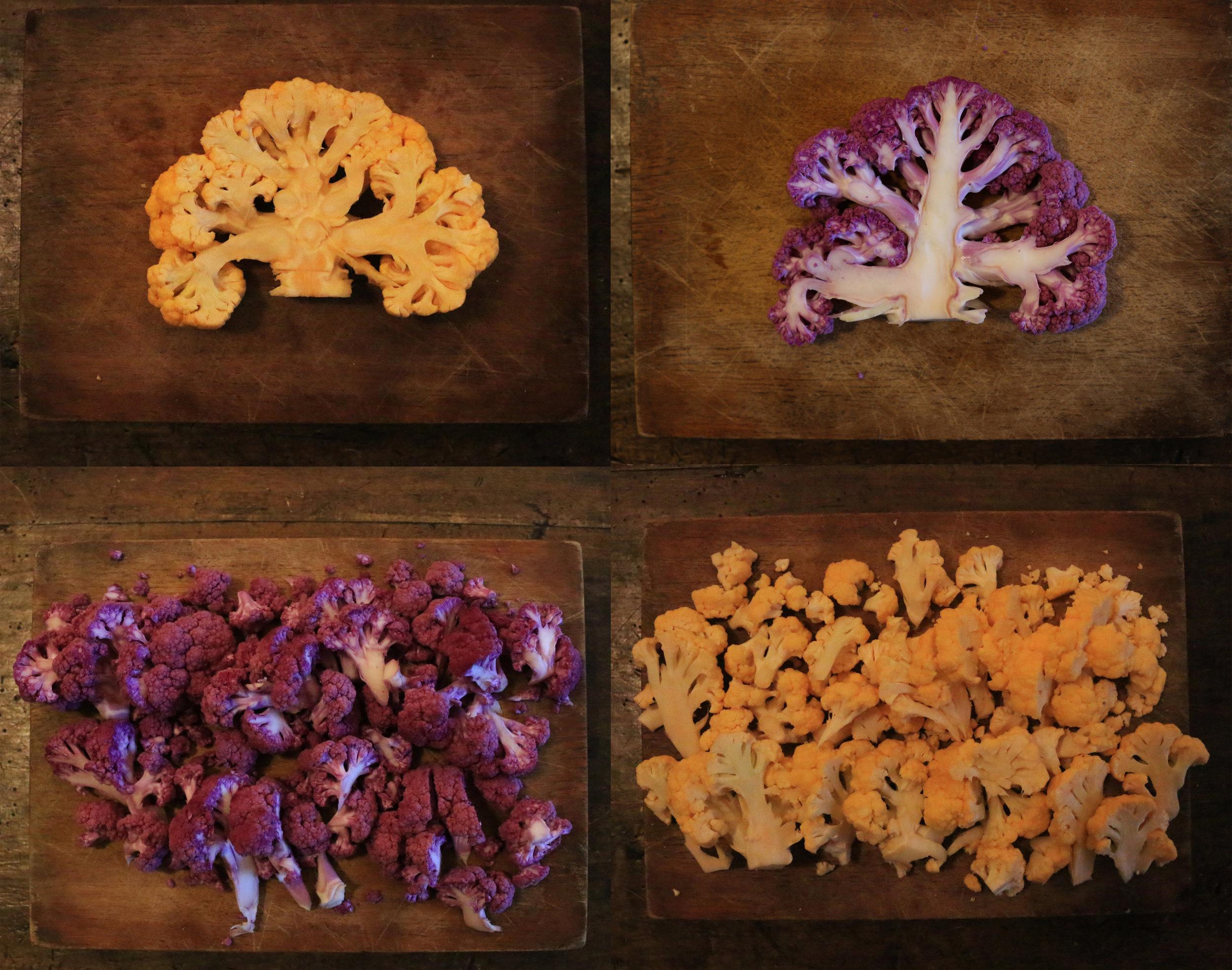 Colorful Cauliflower Recipe-GourmandeSante