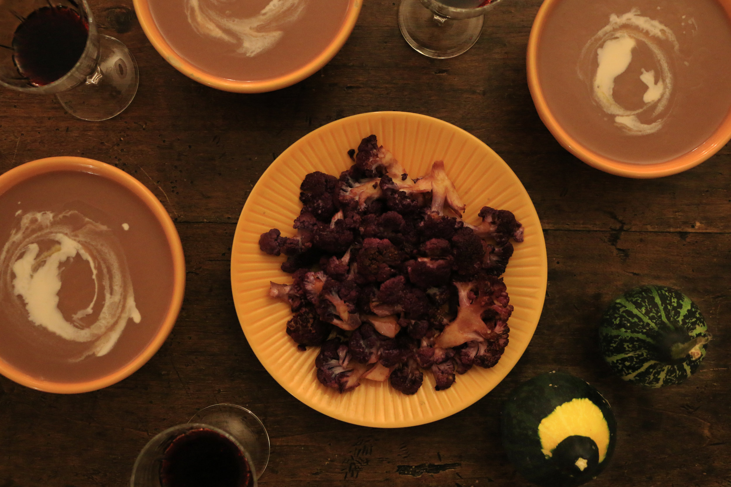 Colorful-cauliflower-soup-gourmandesante