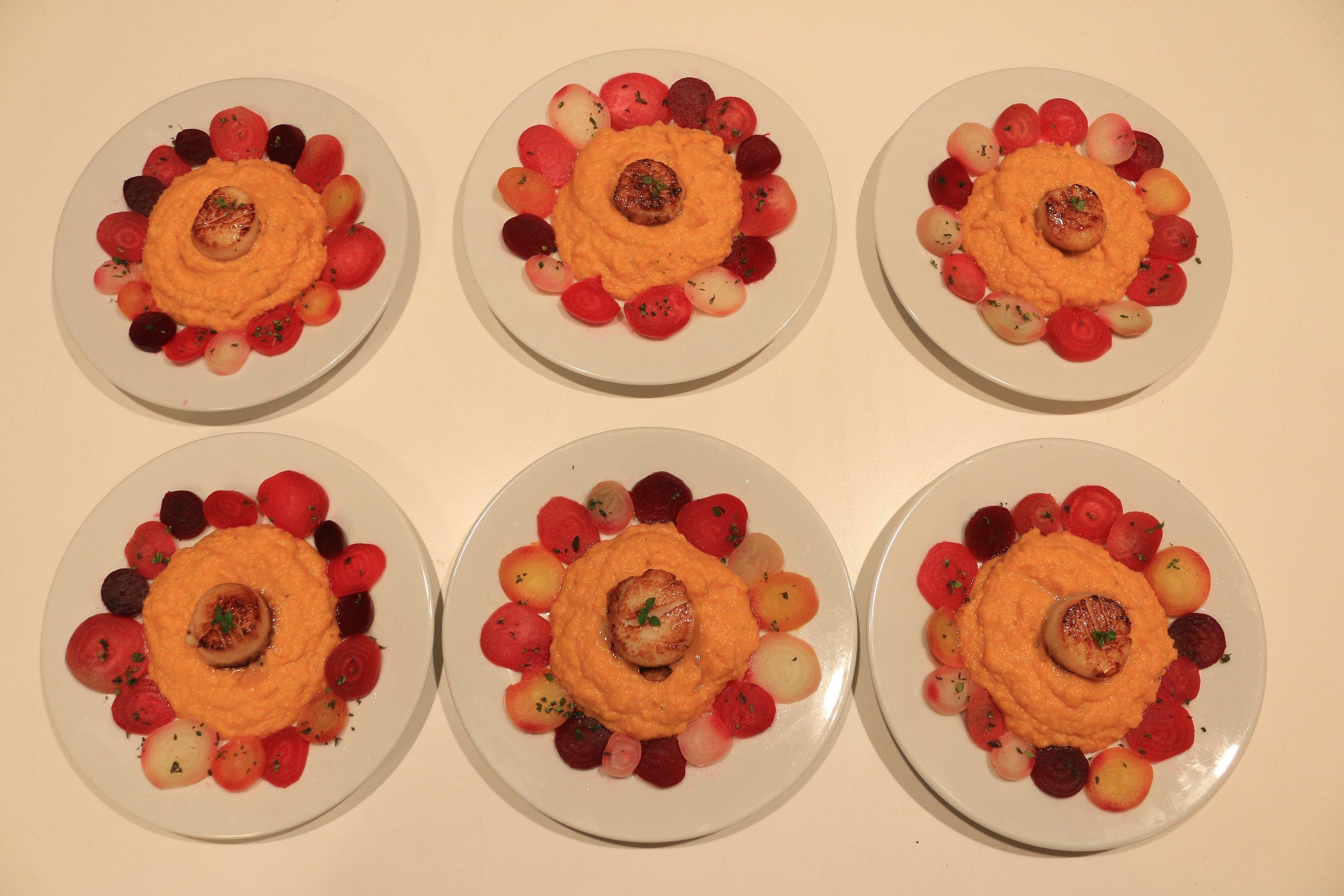 Colorful-beet-sweet-potato-scallops