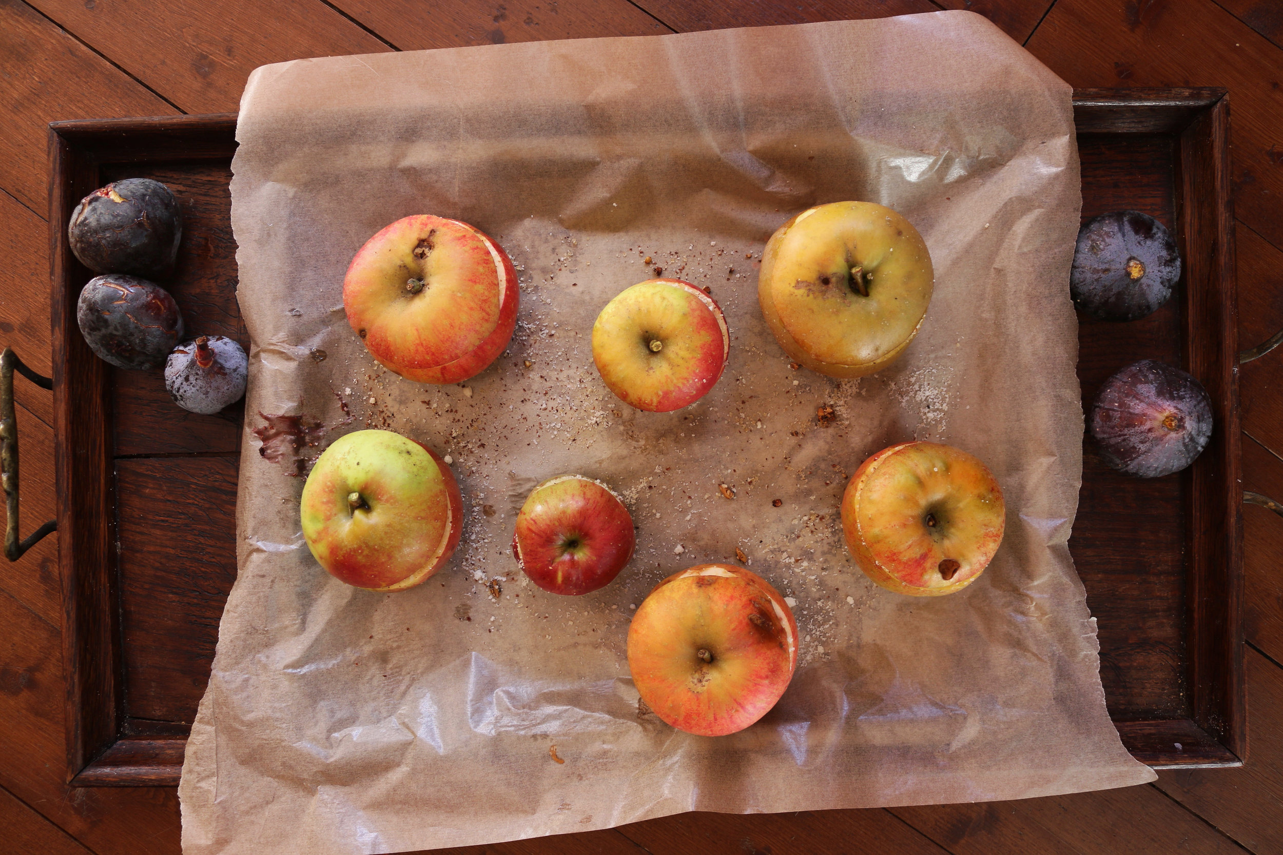 Baked-marzipan-apples-culinarywitch