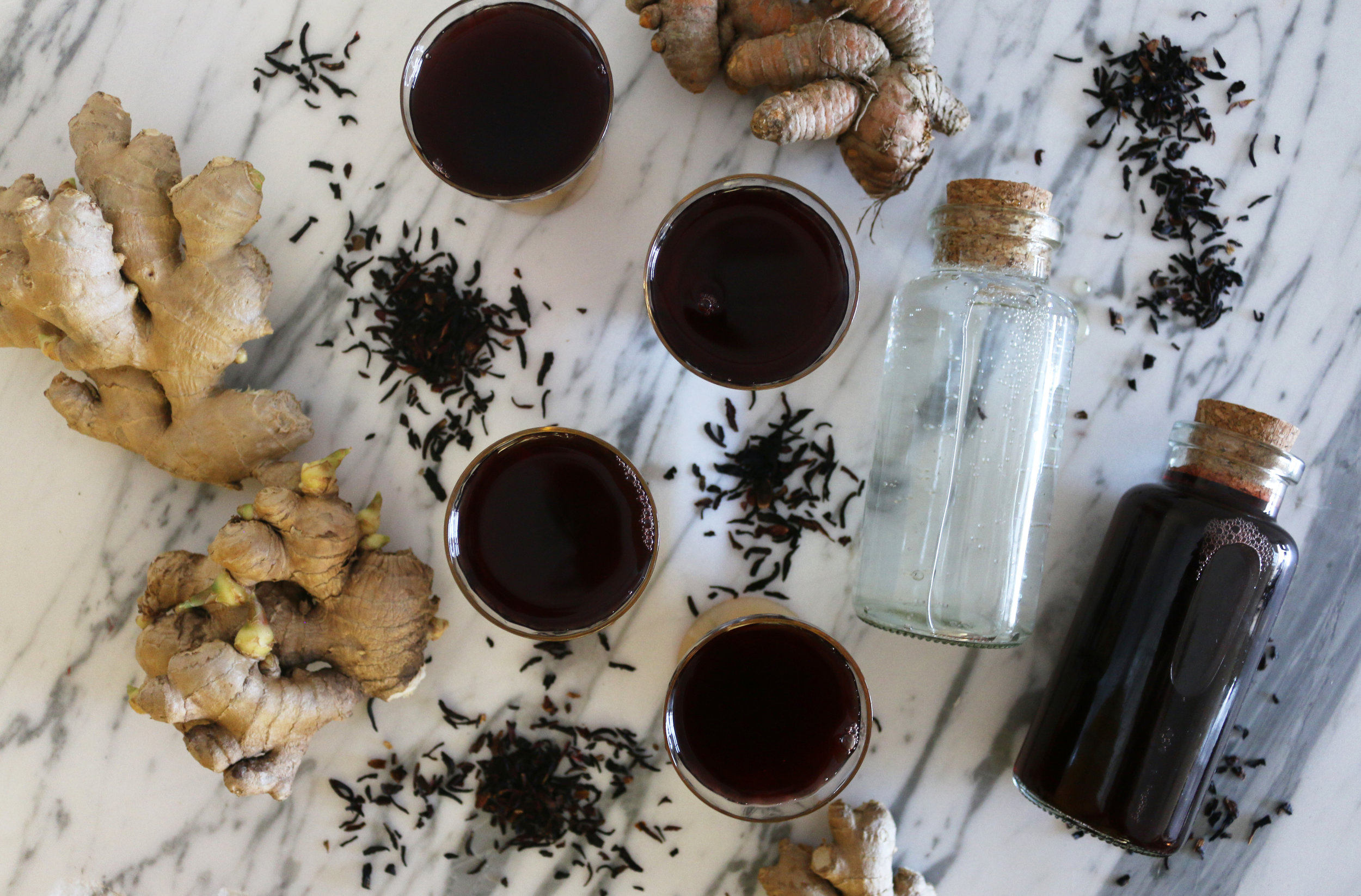 Hibiscus Ginger Tea-CulinaryWitch