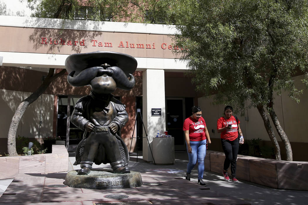 Native American students at UNLV want Hey Reb! statue removed - A group of Native American students at UNLV wants the university to remove the statue of its mascot from campus, and make other changes to create a more welcoming atmosphere for indigenous students and staff. Read more at the Las Vegas Review-Journal.