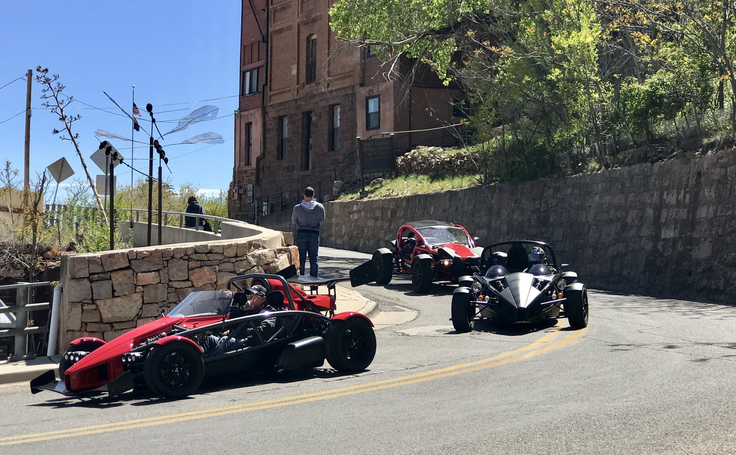 Itinerary:    9:45 AM -  Driver's meeting at Scottsdale Motorsports Gathering  10:00 -  Depart SMG as a group toward Wickenburg, then Highway 89  12:30 PM -  Reserved parking near Yavapai County Courthouse (Prescott, AZ)   12:45 -  Lunch at The Palace Saloon ( 120 S. Montezuma St. Prescott, AZ )  1:45  - Depart Prescott via Highway 89A towards Mingus Mountain / Jerome  2:45  - Fuel in Cottonwood (as needed)  3:00  - Depart Cottonwood via 89A toward Sedona/Oak Creek Canyon  4:15  - End 89A at I-17 and return to Valley as desired  (More details will be provided to confirmed participants prior to the event.)