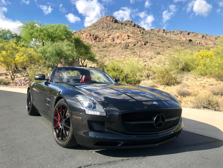 2012 Mercedes SLS AMG Convertible
