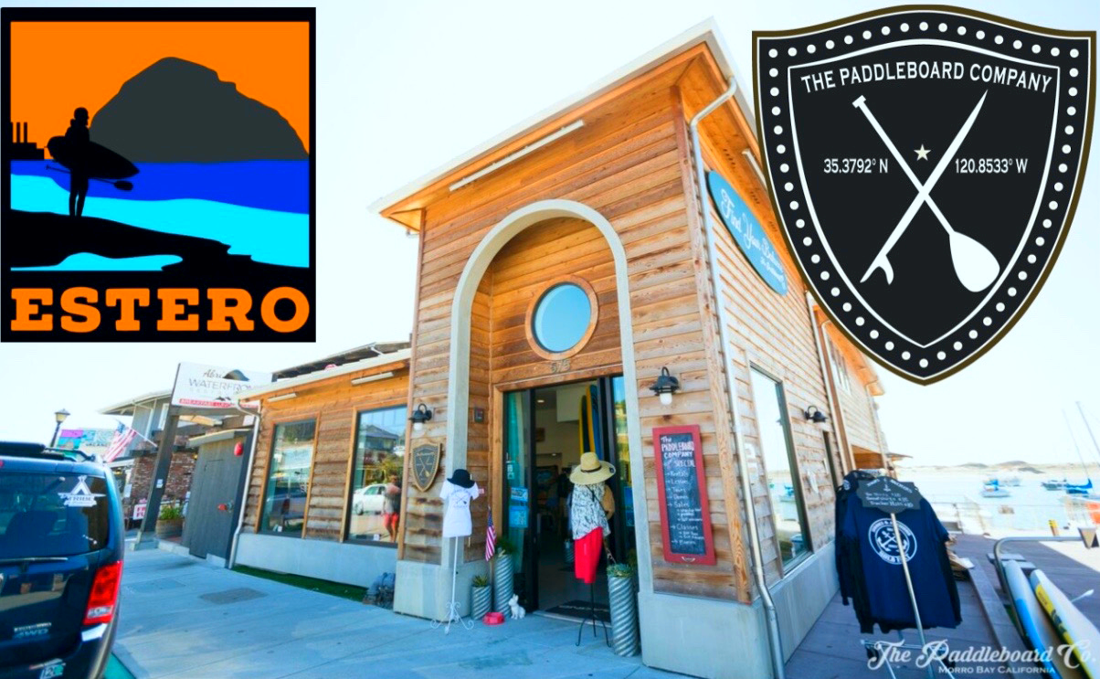 ThePaddleboard Co. is located on the Morro Bay Embarcadero at 591 Embarcadero