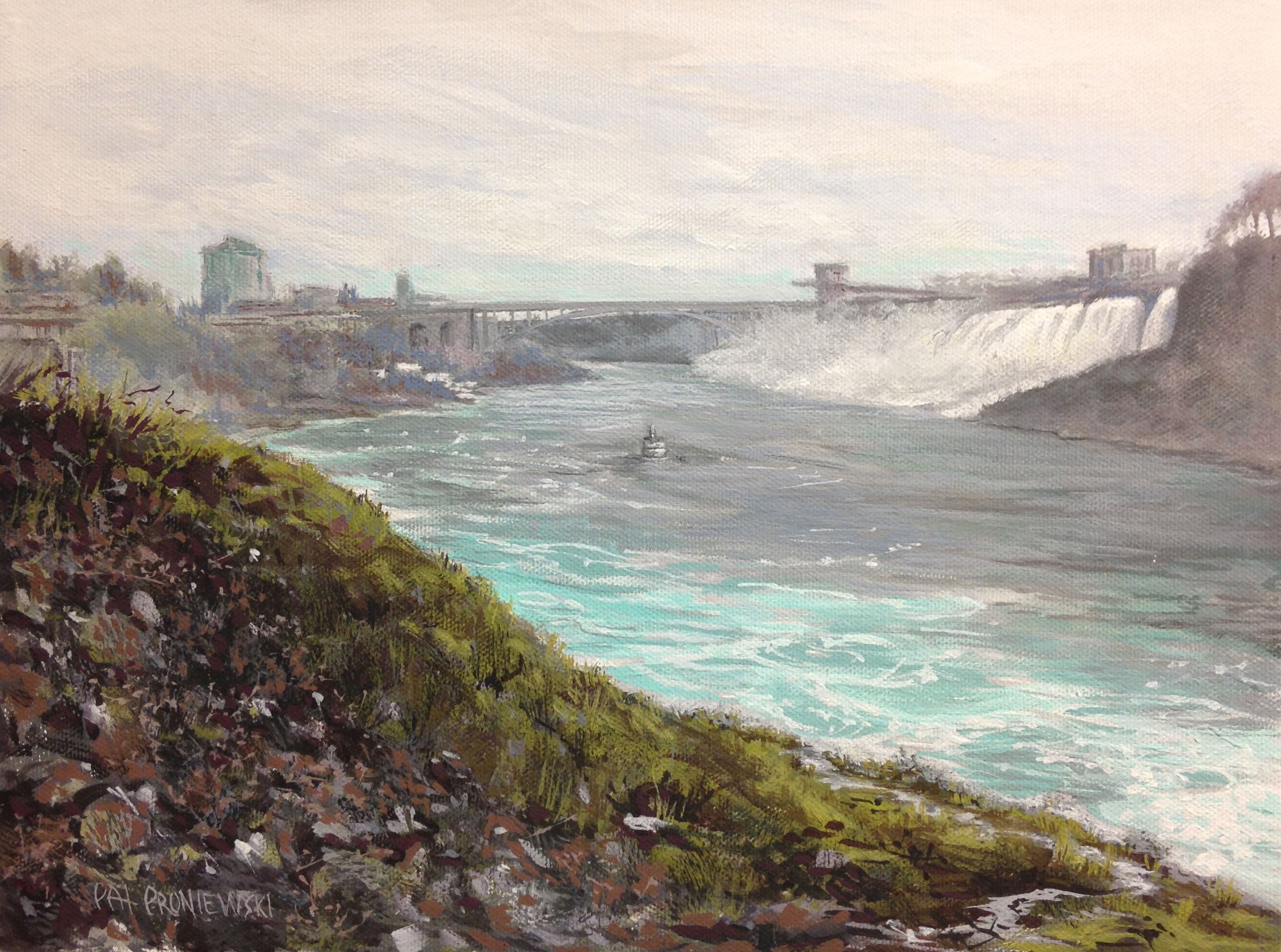 """Overcast: Niagara"""