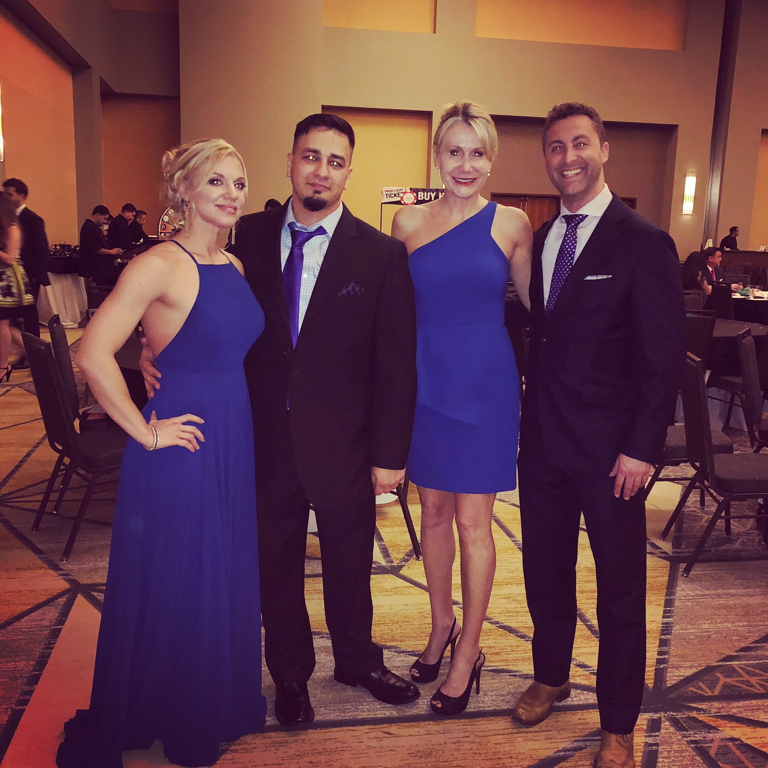 February 17, 2018: Mission Miracle K9 Rescue Texas fundraiser - Watchdog Mary attended the Kings and Queens of Good Hearts fundraiser in San Antonio, Texas as a guest of Mission Miracle K9 Rescue.