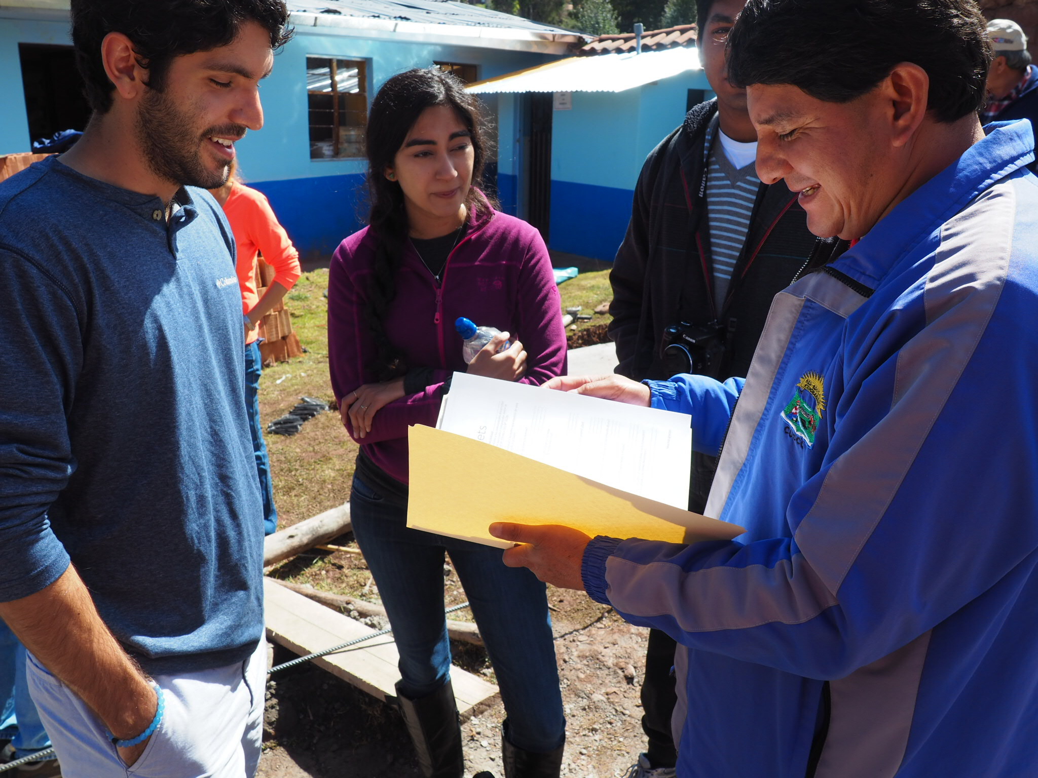 Community Surveys to understand the existing water issue in Huillcapata