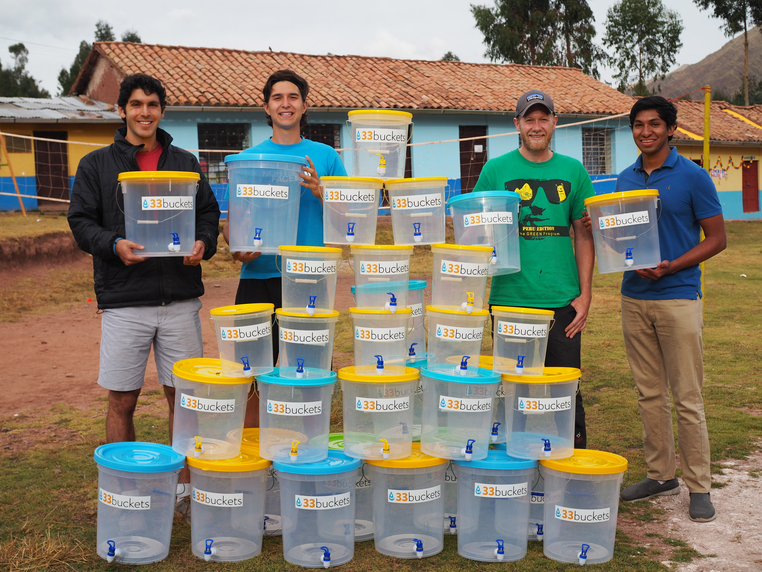 If you count carefully, you will see why we are called 33 Buckets