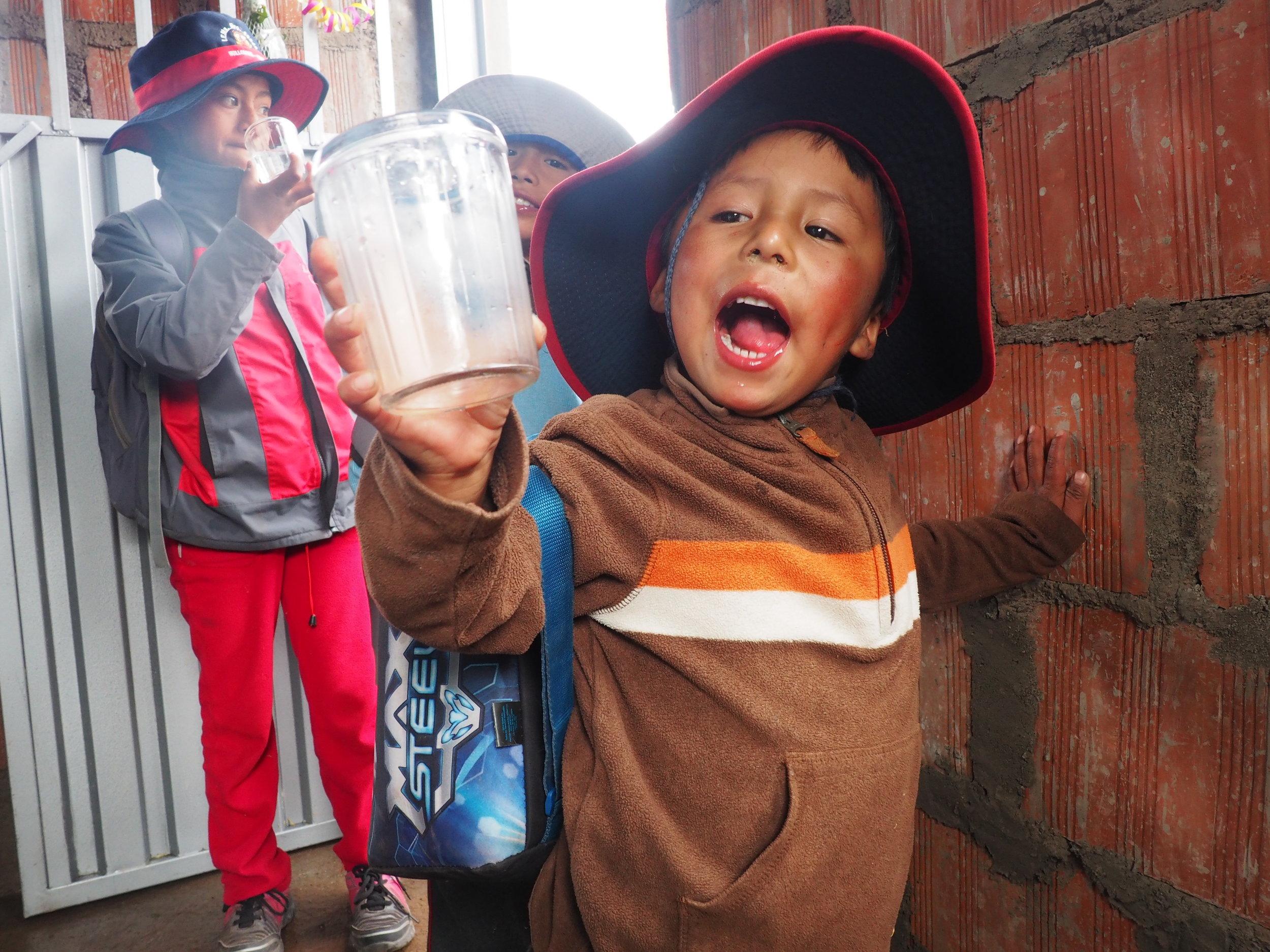 Nothing tastes quite as good as fresh clean water