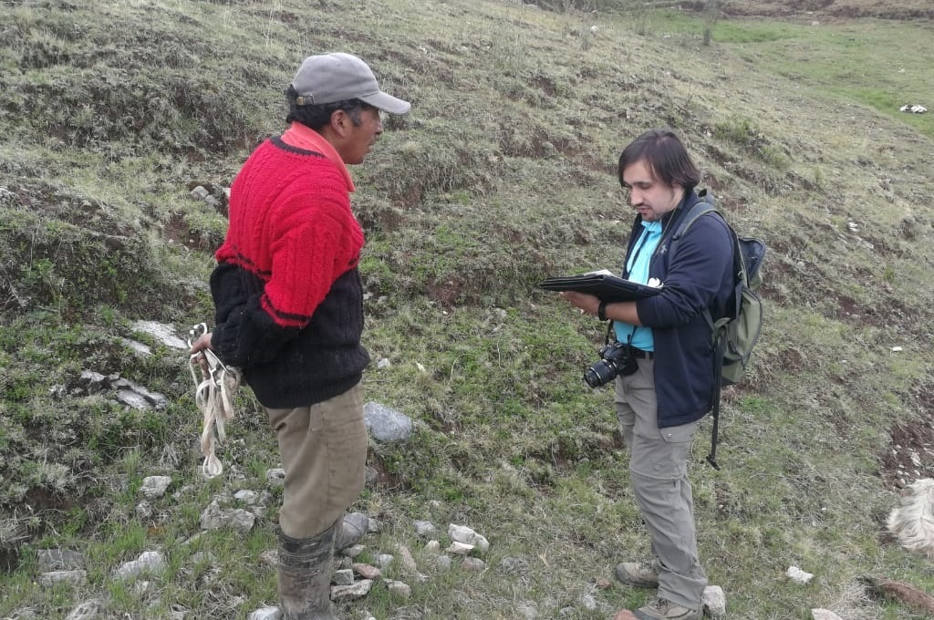 At another village called Pucara, north of Cusco, I interviewed the community president about their water situation.