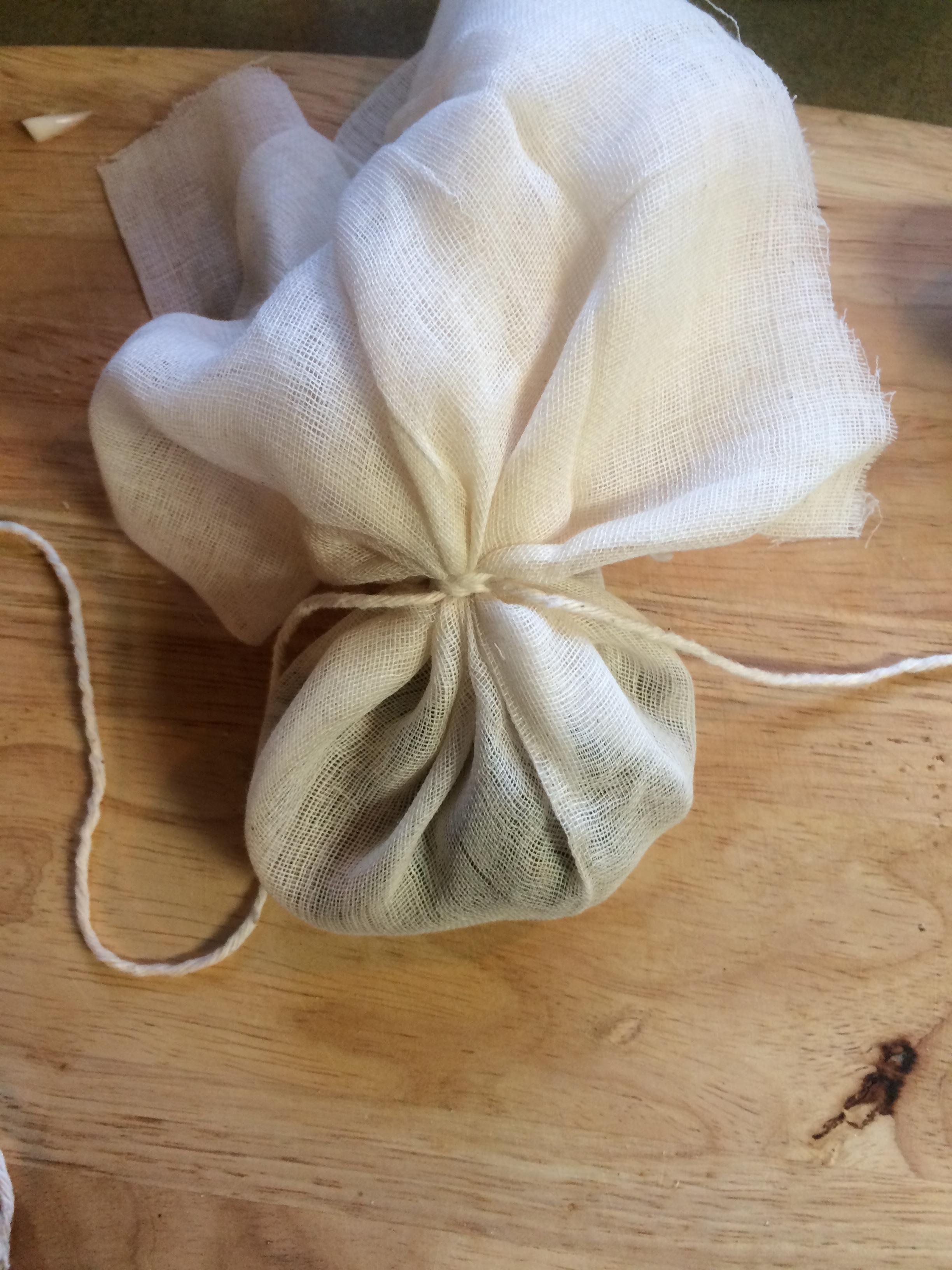 muslin spice bag