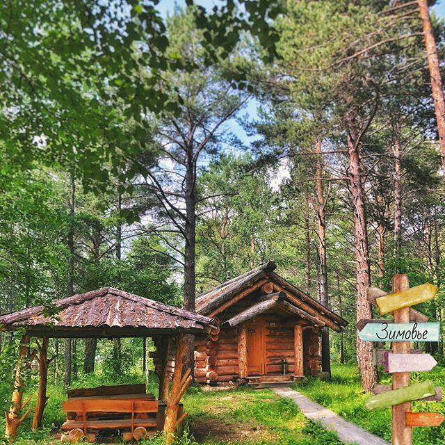 Вкусный сосновый воздух, звенящая тишина, солнце  и невероятно красивая природа в @baikalseasons 🌿