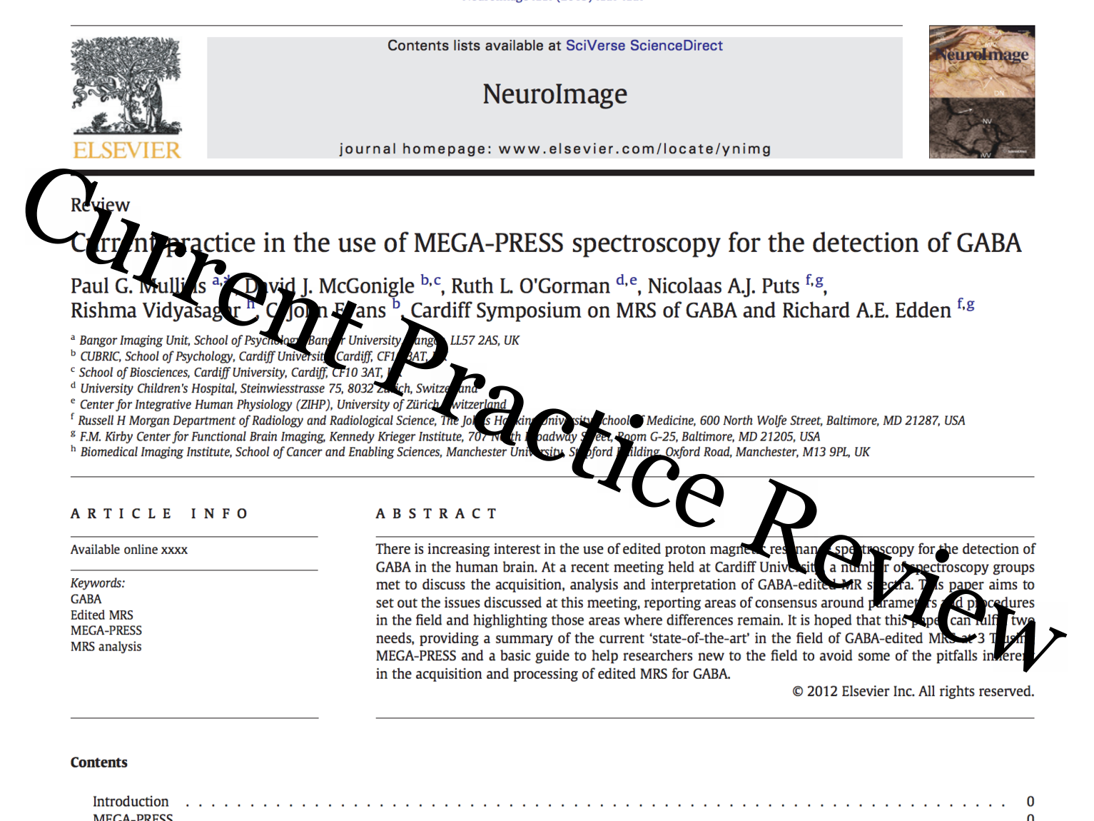Current Practice Review
