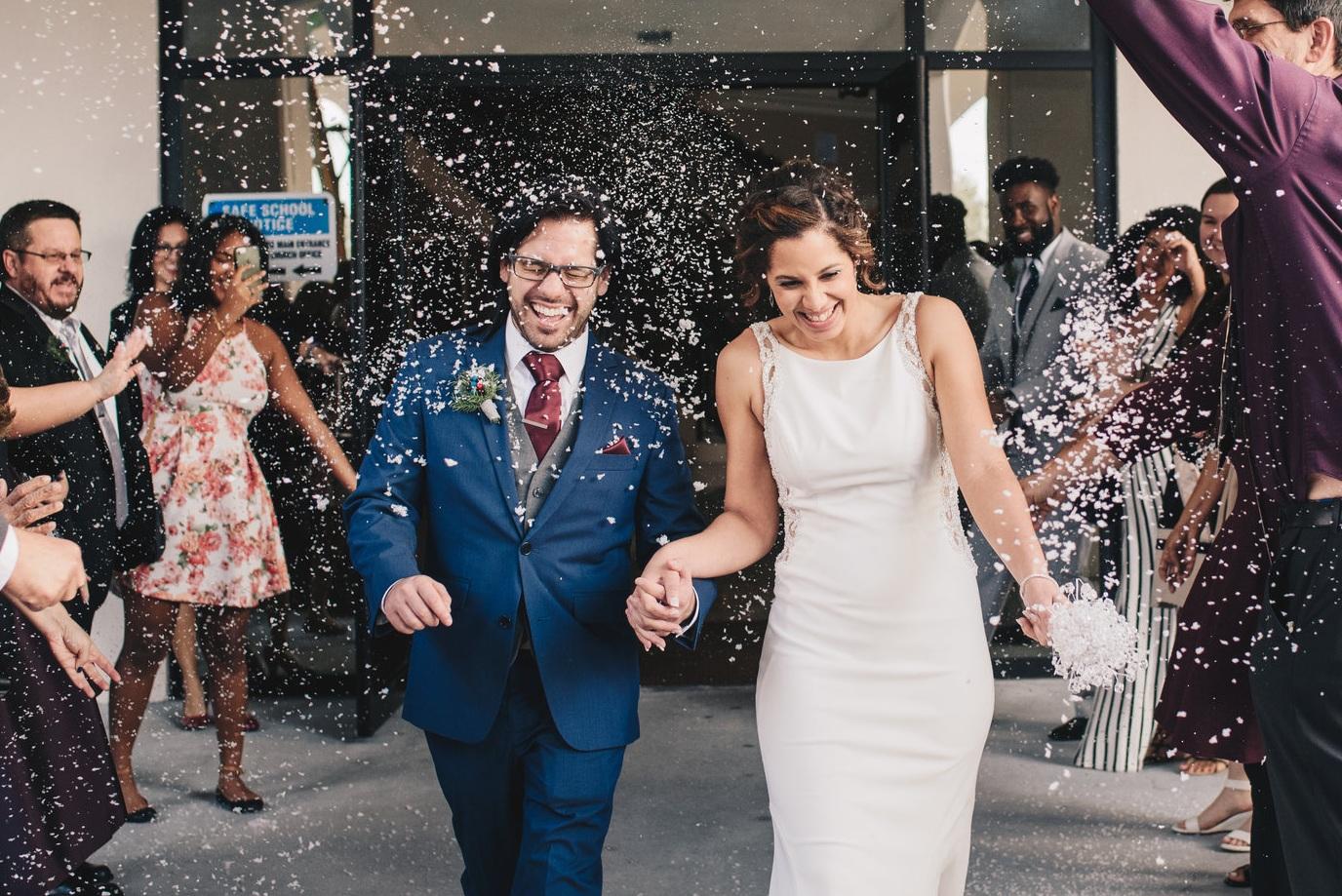 Ruben + Emily | Christmas Wedding Day