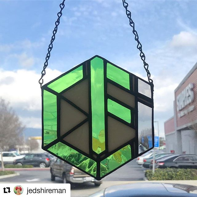 Not only are our members super fit, but they're also super crafty! Thank you @jedshireman for making this incredible stained glass!