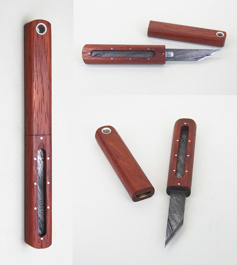 marking knife, tool steel, stainless steel, sterling silver, brass, wood, 2012