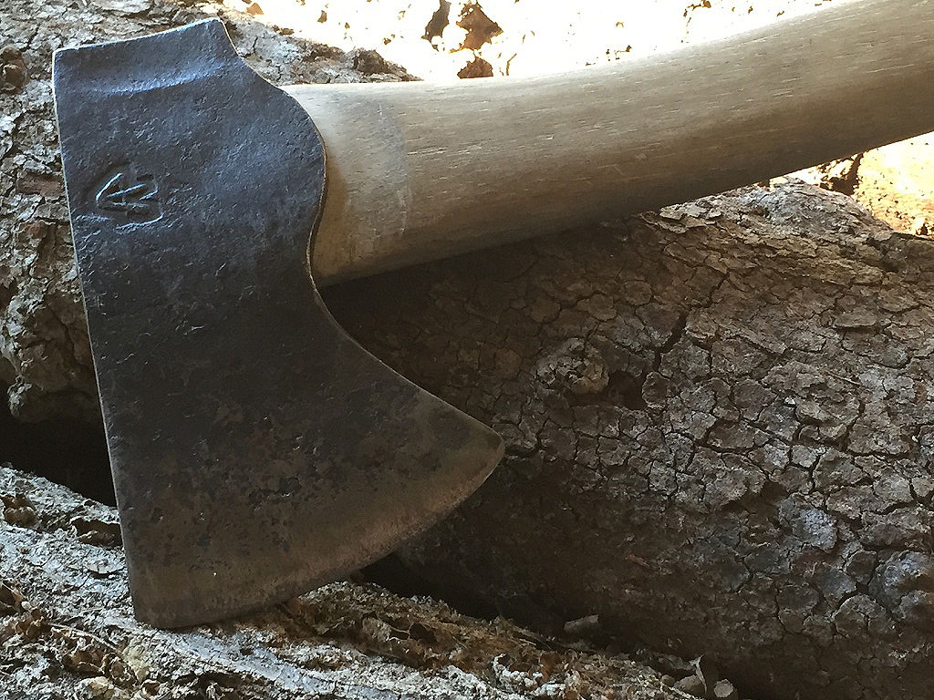 hatchet, steel, tool steel, hickory, 2015