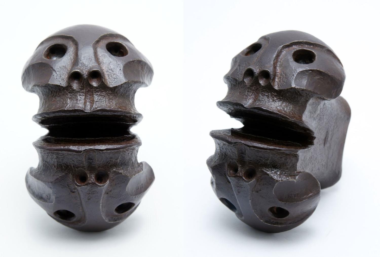 Janus Head II, steel, 2012