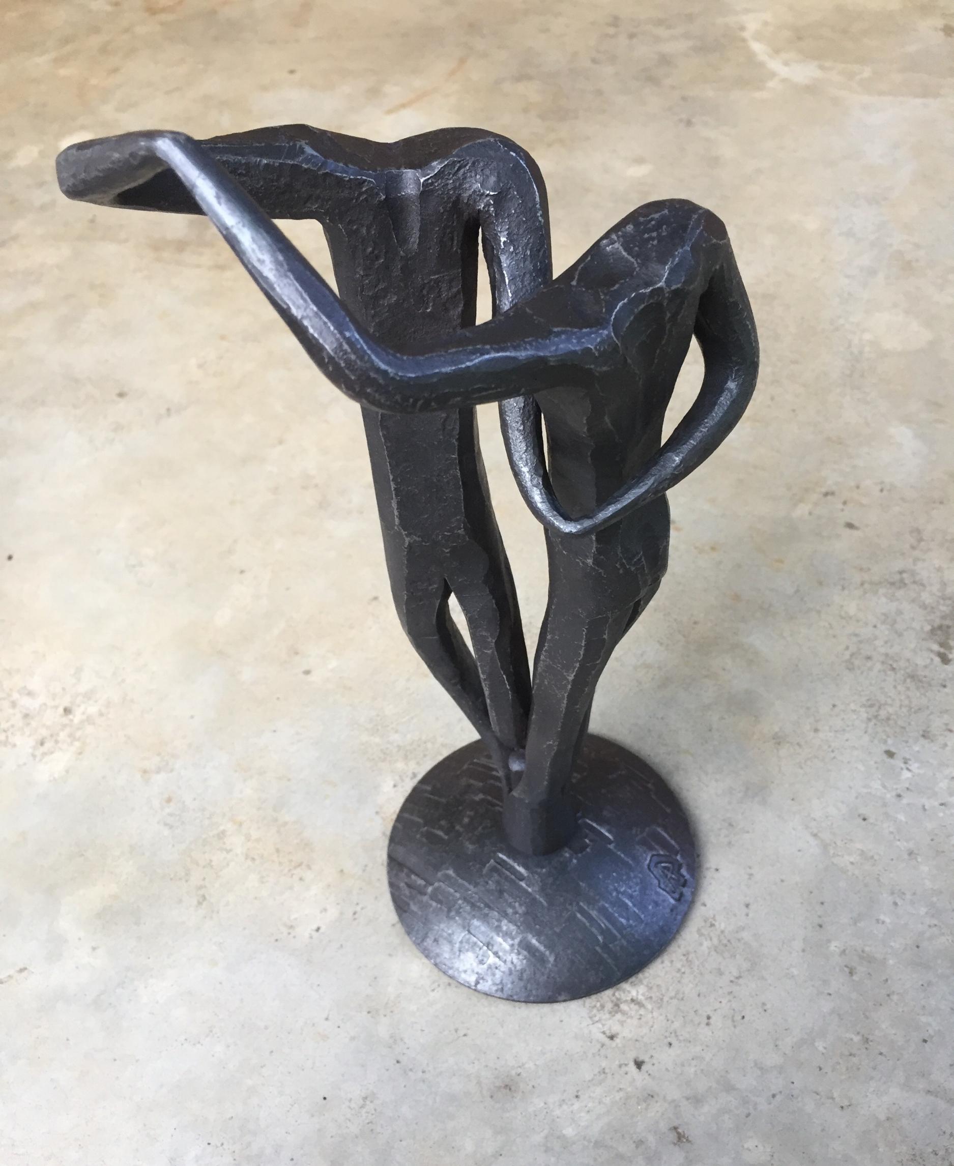 Salsa Dancers,mild steel, 2017