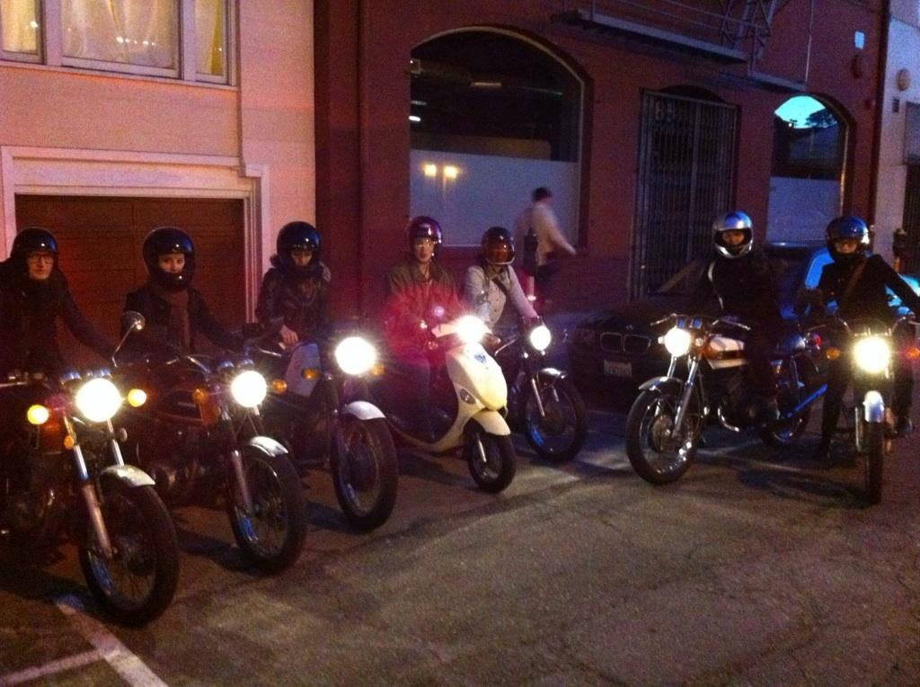 Hot Rides First Ever Ride to Get Tacos, San Francisco 2011 : P hoto cred: @aeschleah