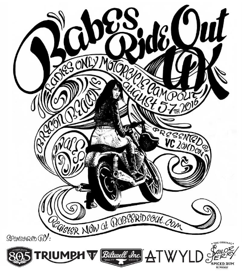 Sponsored by 805 Beer, Triumph Motorcycles, Biltwell, ATWYLD, and Sailor Jerry
