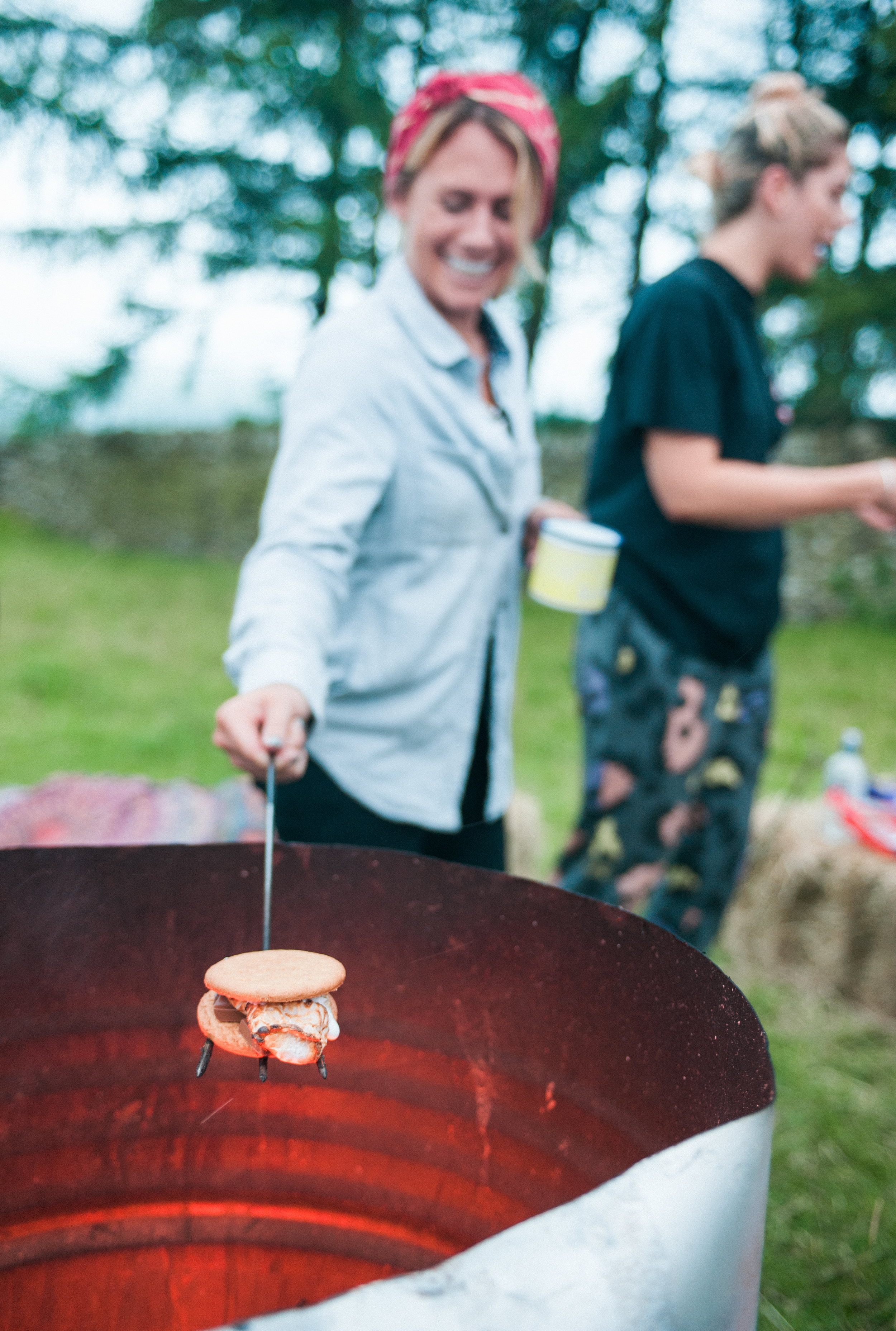 "Stance Smores : Made with ""Biscuits"" : Photo by Heidi Zumbrun"