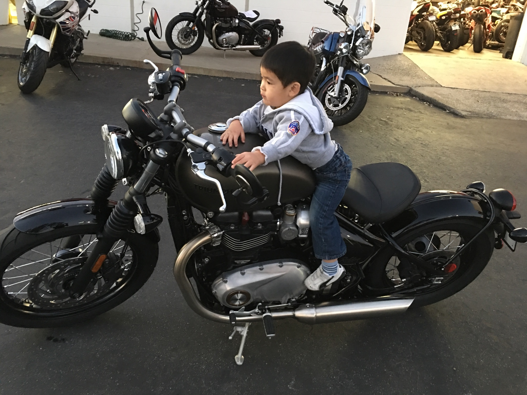 Uyen's little one is almost ready for his own Bobber!