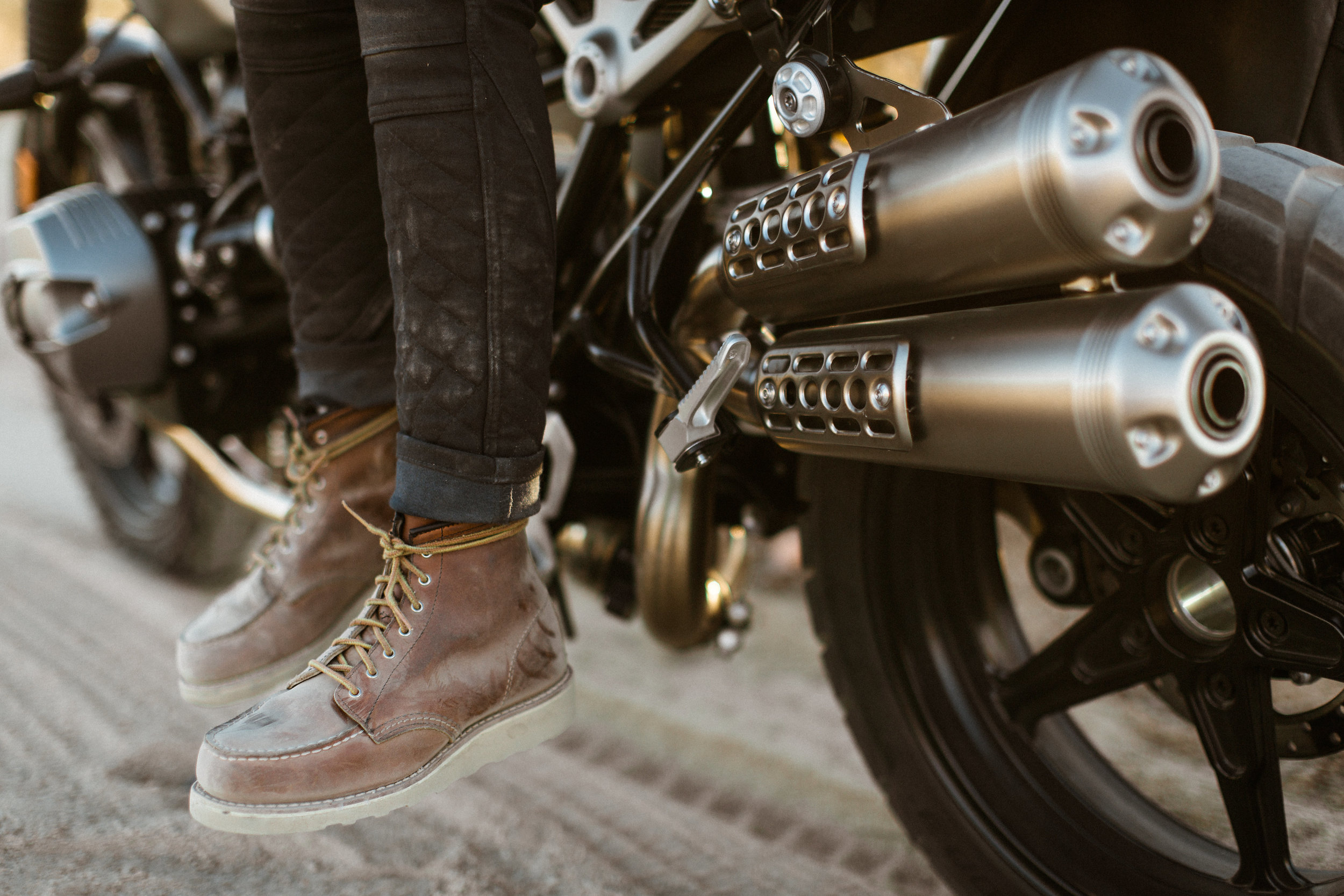 Joy's Red Wing Mocs | Photo by Jenny Linquist