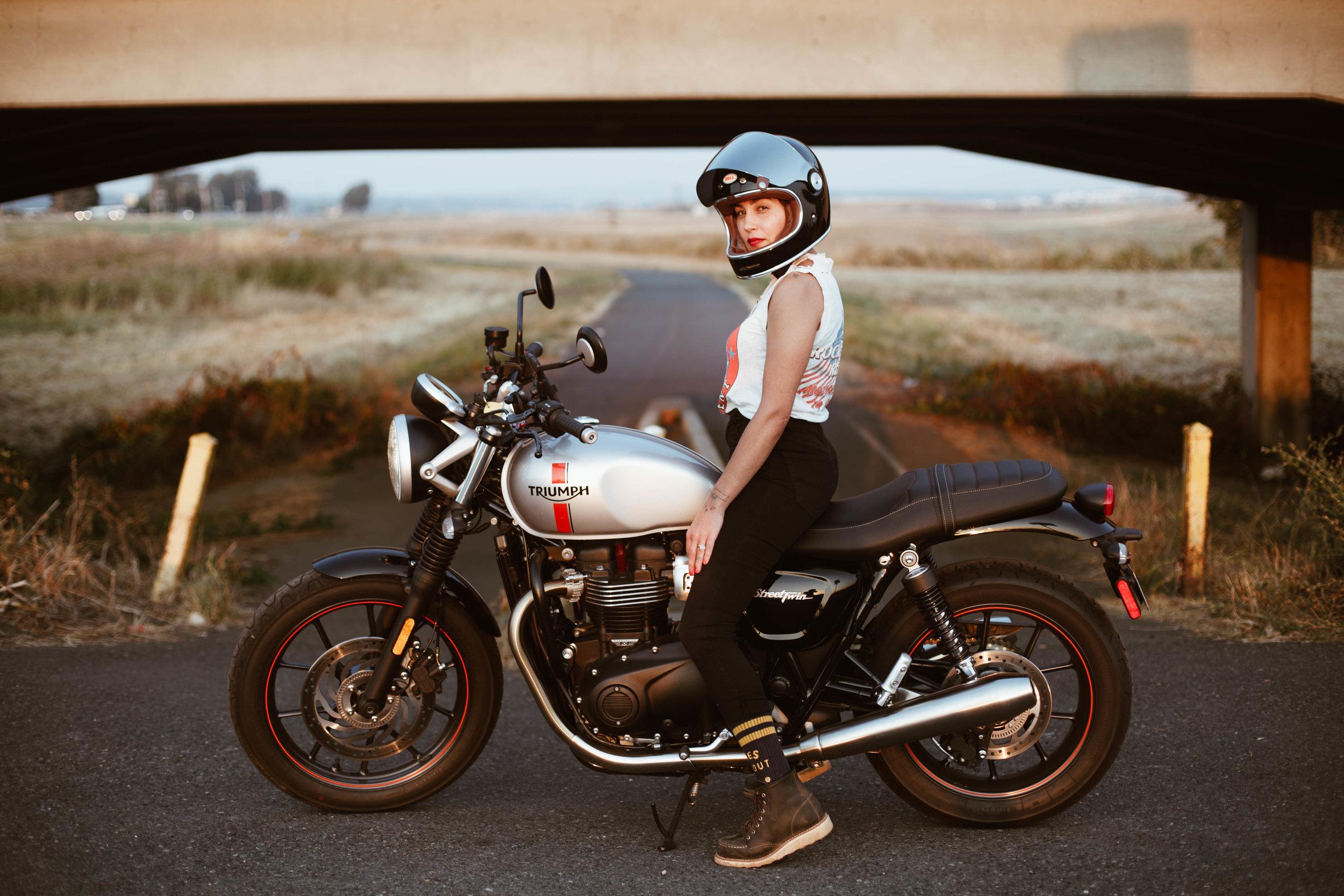 Photo by Lanakila McNaughton of Womens Moto Exhibit