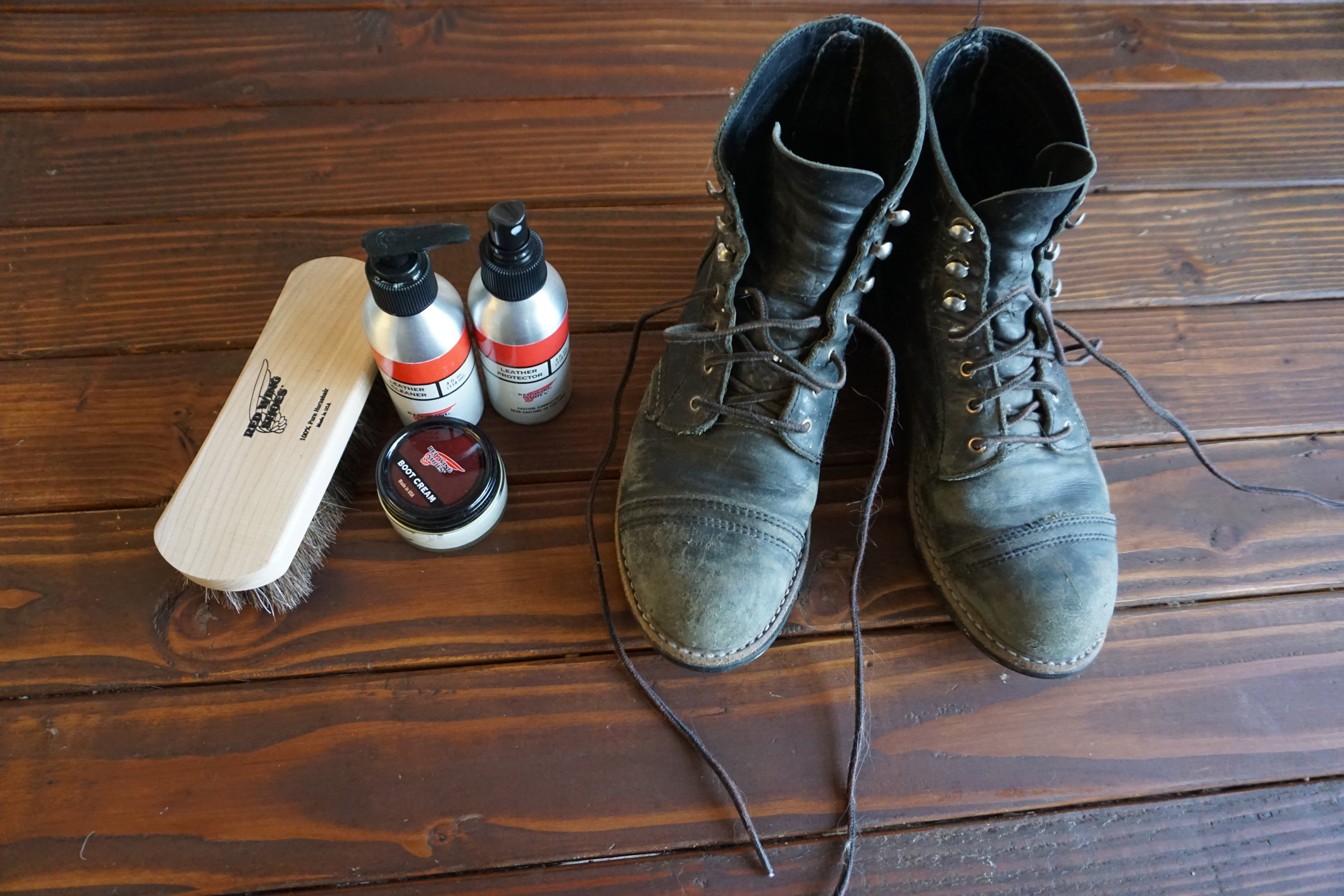 Red Wing Care Kit to the rescue! Check it out  HERE