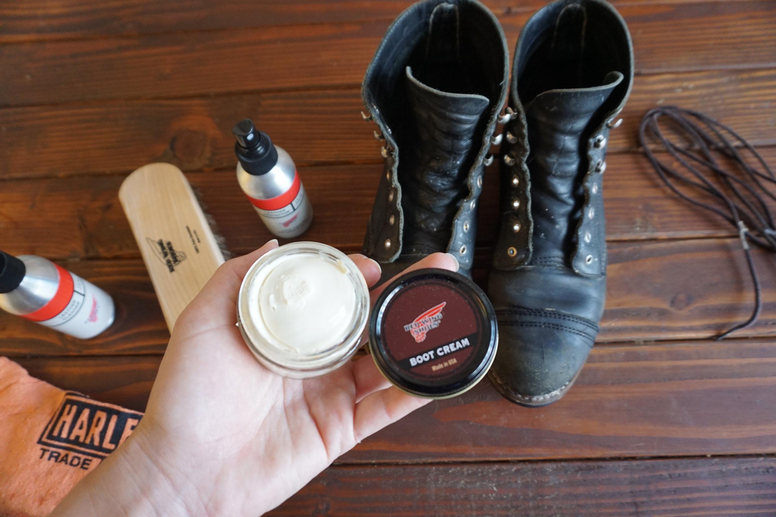 Boot Cream is next