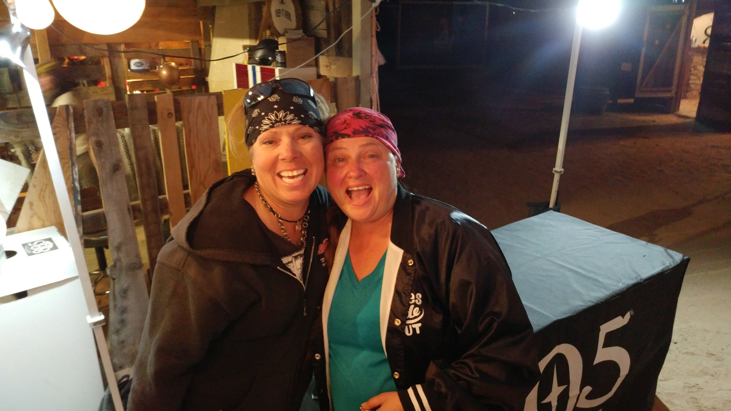 Myself and Melissa – we will meet again!