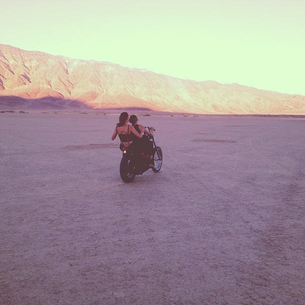 A photo I took of Cass and Celisse once on the lakebed! .jpg