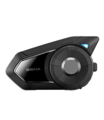 30K - Riding in a group? The Sena 30K allows you to connect with up to 16 riders at a range of 1.2 miles and features Mesh Intercom technology so that if one rider goes out of range the rest of the group stays connected!