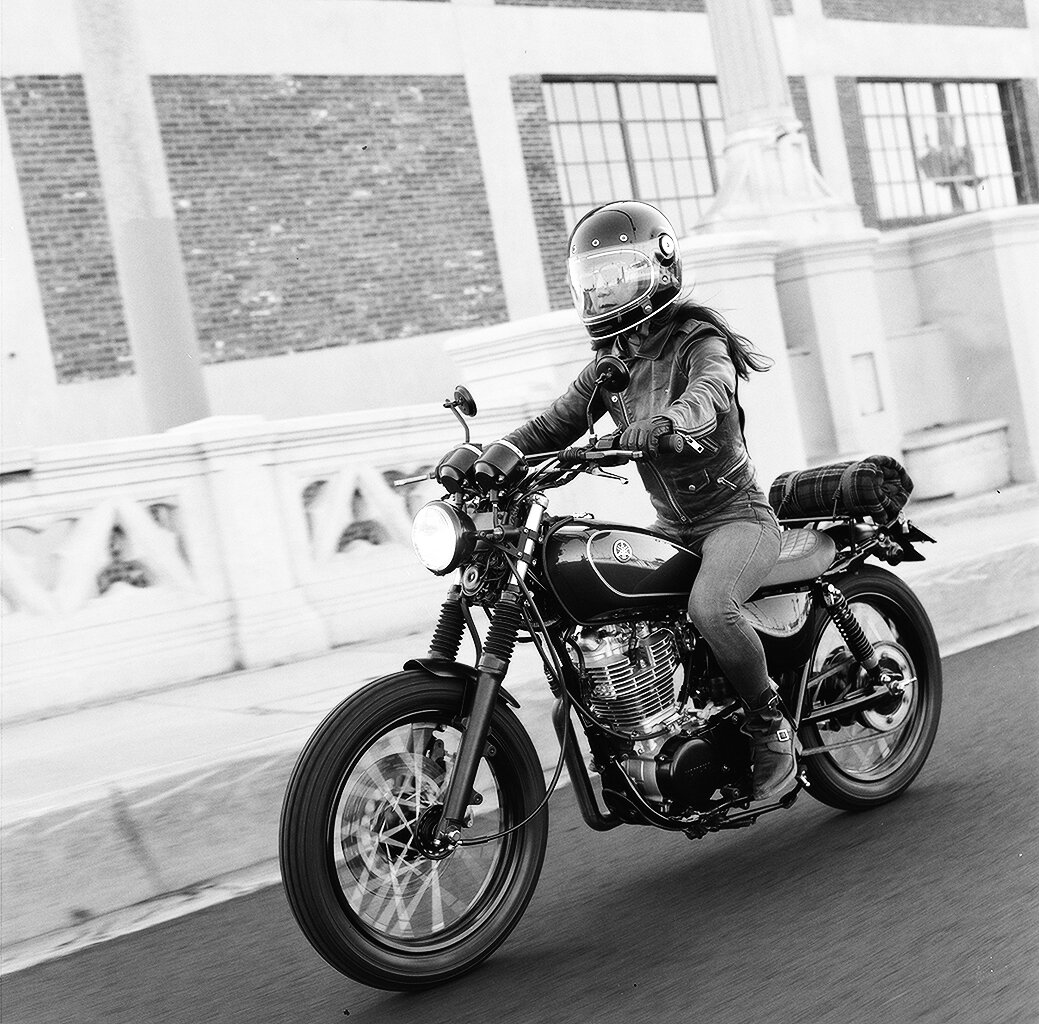 Photo by Lanakila Mcnaughton of Womens Moto Exhibit