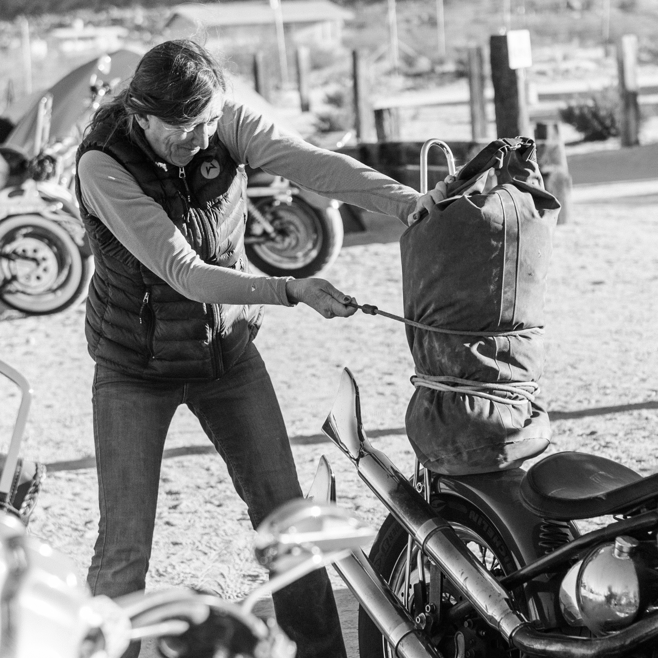 How to Safely Pack Your Bike - Riding with a loaded bike does feel different so make sure to get a feel for it before you set out