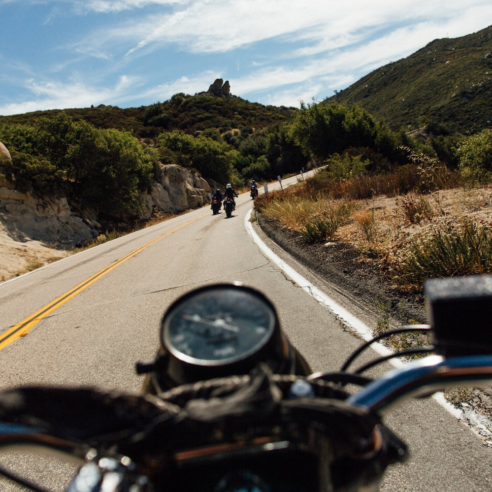 Ride your own ride - Riding at your own comfortable pace