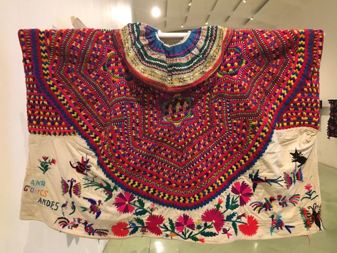 The Museo Texil de Oaxaca showcases Oaxaca's traditional textile crafts