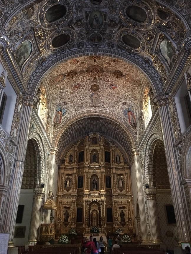 Interior of Templo de Santo Domingo De Guzman