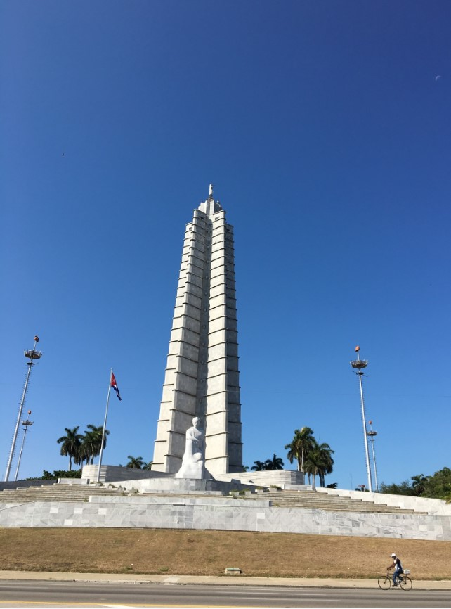 Plaza de Revolucion. This square is notable as being where many political rallies take place and Fidel Castro and other political figures address Cubans.