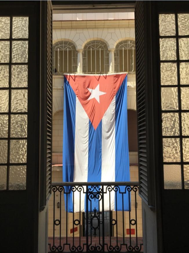 Cuban pride is everywhere :)