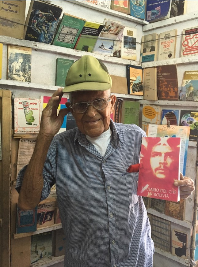 A nice man who runs a small bookstore in the neighborhood